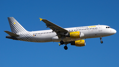 A picture of ECKLB - Airbus A320214 - Vueling - © Saúl Alonso - PMI Plane Spotting