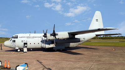 A picture of TC70 - Lockheed KC130H Hercules -  - © Cristian Ariel Martínez