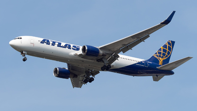 A picture of N649GT - Boeing 767375(ER) - Atlas Air - © Philippe Ardin