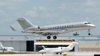 A picture of 9HVJR - Bombardier Global 6000 - VistaJet - © Mark Lawrence