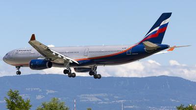A picture of VQBMY - Airbus A330343 - Aeroflot - © Dranob