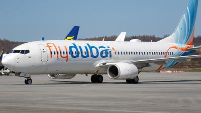 A picture of A6FDU - Boeing 7378KN - FlyDubai - © Łukasz Stawiarz