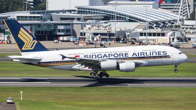 A picture of 9VSKQ - Airbus A380841 - Singapore Airlines - © Vincent Borisovich Zhao