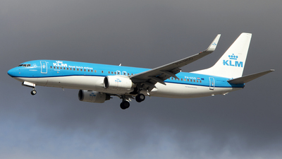A picture of PHHSD - Boeing 7378K2 - KLM - © Paul Spijkers
