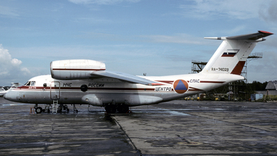 RA-74029 - Antonov An-74 - Russia - Ministry for Emergency Situations (MChS)