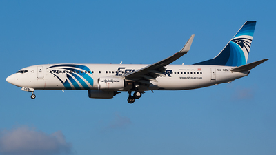 SU-GEM - Boeing 737-866 - EgyptAir