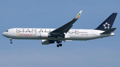 A picture of ETALO - Boeing 767360(ER) - Ethiopian Airlines - © Abizar Burniat