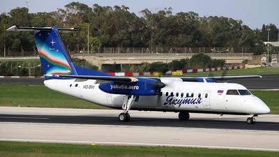 A picture of VQBVI - De Havilland Canada Dash 8300 - Yakutia Airlines - © Ray Pace