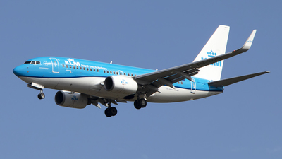 A picture of PHBGQ - Boeing 7377K2 - KLM - © Paul Spijkers