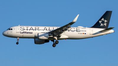D-AIUA - Airbus A320-214 - Lufthansa