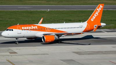 G-EZRZ - Airbus A320-214 - easyJet