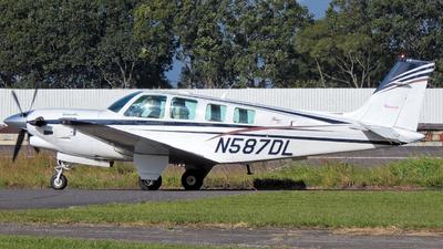 N587DL - Beechcraft B36TC Bonanza - Private