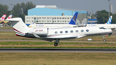 A7-CGS - Gulfstream G500 - Qatar Executive