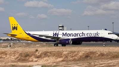 G-OZBE - Airbus A321-231 - Monarch Airlines