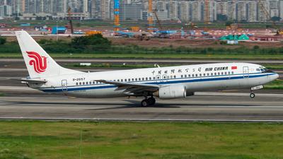 A picture of B2657 - Boeing 73789L - Air China - © SunnyZUUU
