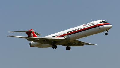 I-SMEZ - McDonnell Douglas MD-82 - Meridiana