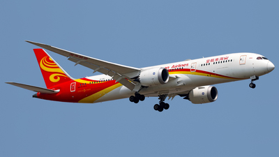 A picture of B1138 - Boeing 7879 Dreamliner - Hainan Airlines - © Stefano R