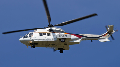 82-02 - Eurocopter AS 532UC Cougar - Germany - Air Force