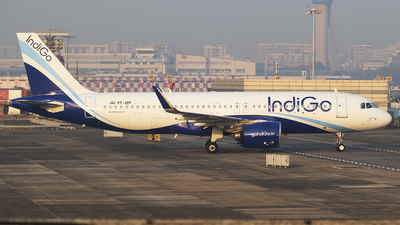 A picture of VTIZP - Airbus A320271N - IndiGo - © Akshay M