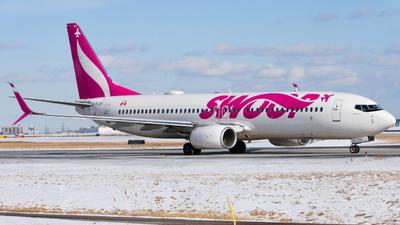 A picture of CFLSF - Boeing 7378CT - Swoop - © Aaron Miles