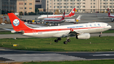 A picture of B8332 - Airbus A330243 - Sichuan Airlines - © ECO707