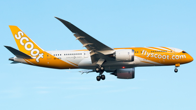 9V-OFG - Boeing 787-8 Dreamliner - Scoot