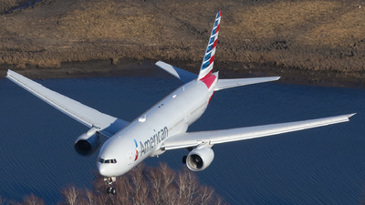 A picture of N754AN - Boeing 777223(ER) - American Airlines - © Andrew Pries