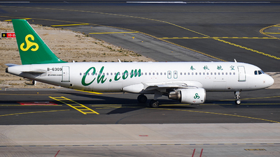 A picture of B6309 - Airbus A320214 - Spring Airlines - © MingyaoLeonardo