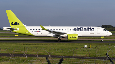 A picture of YLAAX - Airbus A220300 - Air Baltic - © Dan Smith