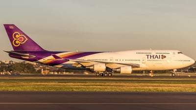 HS-TGF - Boeing 747-4D7 - Thai Airways International