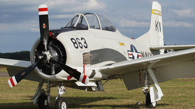 NX377WW - North American T-28B Trojan - Private