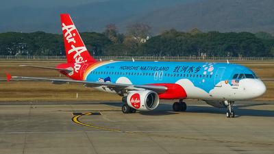 9M-AHL - Airbus A320-216 - AirAsia