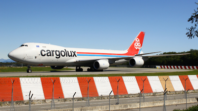 LX-VCE - Boeing 747-8R7F - Cargolux Airlines International