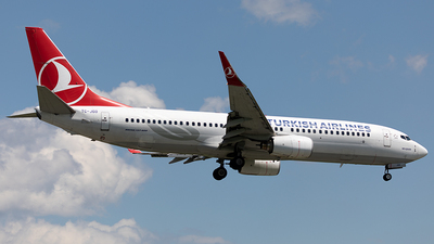 TC-JGD - Boeing 737-8F2 - Turkish Airlines