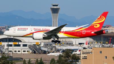 B-2750 - Boeing 787-8 Dreamliner - Hainan Airlines