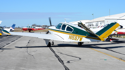 N1597W - Beechcraft V35B Bonanza - Private