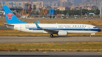 A picture of B5721 - Boeing 73781B - China Southern Airlines - © Fang Xiaoyu
