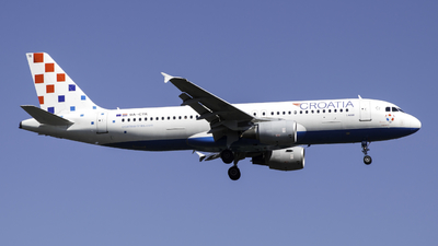 A picture of 9ACTK - Airbus A320214 - Croatia Airlines - © Theo Möhle