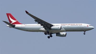 B-HYI - Airbus A330-343 - Cathay Dragon