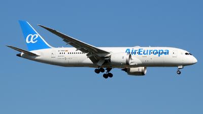 EC-MOM - Boeing 787-8 Dreamliner - Air Europa