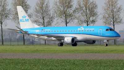 PH-EXU - Embraer 170-200STD - KLM Cityhopper