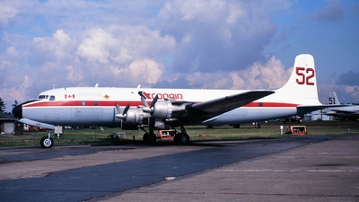 C-FCZZ - Douglas DC-6A(F) - Conair Aviation