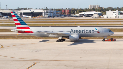 A picture of N768AA - Boeing 777223(ER) - American Airlines - © Planes4you