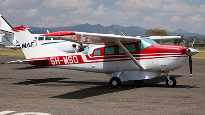 5H-MSO - Cessna U206G Stationair - Mission Aviation Fellowship (MAF)