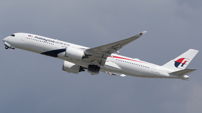 9M-MAE - Airbus A350-941 - Malaysia Airlines