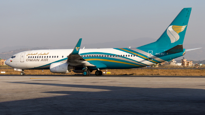 A picture of A4OBU - Boeing 73781M - Oman Air - © Eren Erol