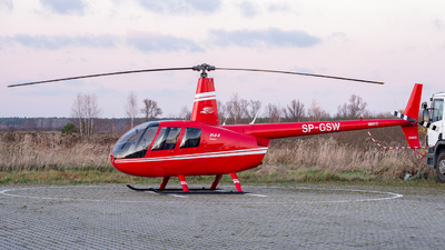 SP-GSW - Robinson R44 Raven II - Private
