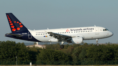 A picture of OOSSA - Airbus A319111 - Brussels Airlines - © Szabó Imre