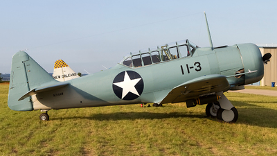 N714AW - North American SNJ-4 Texan - Private