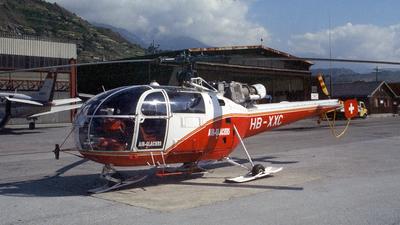 HB-XXC - Aérospatiale SA 316B Alouette III - Air Glaciers